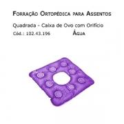 Forrações de Assento - Caixa de Ovo Quadrada com Orifício (Agua) - Bioflorence - Cód: 102.0196