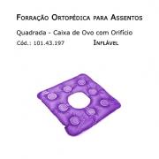 Forrações de Assento - Caixa de Ovo Quadrada com Orifício (Inflável) - Bioflorence - Cód: 101.0197