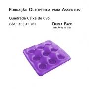 Forrações de Assento - Caixa de Ovo Quadrada (Dupla Face - Inflavel e Gel) - Bioflorence - Cód: 103.0201