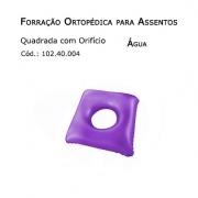 Forrações de Assento - Quadrada com Oríficio (Água) - Bioflorence - Cód: 102.0004