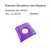 Forrações de Assento - Quadrada com Oríficio (Inflável) - Bioflorence - Cód: 101.0023