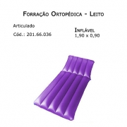 Forrações de Leito - Articulado (Inflável 1,90 x 0,90m) - Bioflorence - Cód: 201.0036