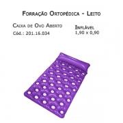 Forrações de Leito - Caixa de Ovo Aberto (Inflável 1,90 x 0,90m) - Bioflorence - Cód: 201.1173