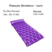 Forrações de Leito - Caixa de Ovo Fechado (Inflável 1,90 x 0,90m) - Bioflorence - Cód: 201.1175