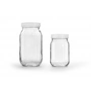 Frasco de Vidro com Tampa de Plástico de Rosca, EME Equipment - Cód: FV-EME