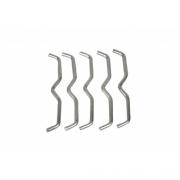 Gancho Bigode de Aço para Mini-Jump - Padrão - Tam Único (50 Unidades) - G&H SPORT - Cód: GH 330