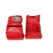 Luva Bate Saco com Fecho - Vermelha (02 PARES) - G&H SPORT - Cód.: GH 140V