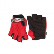 Luvas de Bicicross - Vermelho (02 PARES) - G&H SPORT - Cód: GH 120V