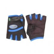Luvas de Nylon Curvin - Par - Azul - Tam M - G&H SPORT - Cód: GH 200AM_estq