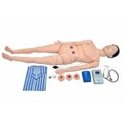 Manequim Avançado P/Cuidados Geriátrico Feminino C/Órgãos Interno-Sdorf-Cód:SD-4000/GF