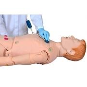 Manequim Bissexual Adulto Avançado de 1,70 cm P/ Habilidades em Enfermagem- SDORF - Cód: SD-4000/A