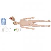 Manequim Bissexual com Órgãos Internos para Treino de Enfermagem ANATOMIC - Cód: TZJ-0502