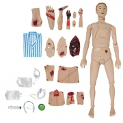 Manequim Bissexual com Órgãos Internos, Simulador para Cuidados de Enfermagem e Trauma - ANATOMIC - Cód: TGD-4011