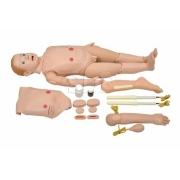 Manequim Bissexual Infantil de 3 a 5 anos C/ Órgãos P/ Treino de Enfermagem- SDORF - Cód: SD-4000/INF