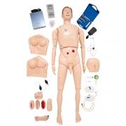 Manequim Bissexual, Simulador para Treinamento de Habilidades em Enfermagem e ACLS - ANATOMIC - Cód: TZJ-0512