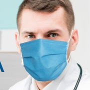 Máscara Hospitalar SMS Spunbond (100 Unidades) - Dortler - Cód: D-703