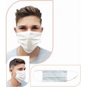 Máscara Tripla Descartável (100 Unidades) - Cód: MK-14000