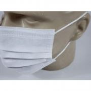 Máscara Tripla Descartável (15 caixas 50 unidades cada) - Descarbox - Cód: 1491BR