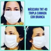 Máscara Tripla Descartável TNT 40G (1000pcs) - Cód: SPA-V11-21040TG