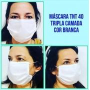 Máscara Tripla Descartável TNT 40G (50 Unidades) - Cód: SPA-V11-05040TG