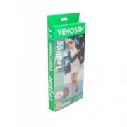 Meia 3/4 Compressiva 15-23mmHg Legline - Pé Fechado  (Cor Preta) - VENOSAN - Cód: VL20BL