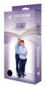 Meia 3/4 Compressiva 18mmHg Hospitalar Antiembolia Estéril  VENOSAN - Cód: SG5700E