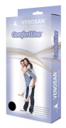 Meia 3/4 Compressiva 20-30mmHg Comfortline Tradicional - Curta (Pé Aberto) - VENOSAN - Cód: BR6100