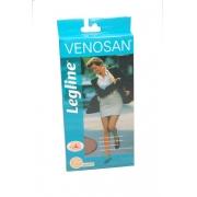 Meia-calça Compressiva 20-30mmHg Legline Pé Aberto (Cor: Sahara) - VENOSAN - Cód: VLA33SA