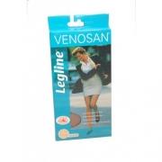 Meia-calça Compressiva 20-30mmHg Legline - Pé Fechado (Cor: Preta)  - VENOSAN - Cód: VL33BL