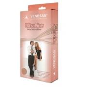 Meia-calça Compressiva 30-40mmHg - Pé Aberto- Bege - 4000 - VENOSAN - Cód: BG4220