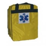 Mochila Pré-Hospitalar Básica Amarela Sem Equipamento (tipo SAMU 192) - Ortocenter - Cód: OC 2043-03