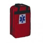 Mochila Pré-Hospitalar Básica Vermelha Sem Equipamento (tipo SAMU 192) - Ortocenter - Cód: OC 2043-06