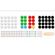 Modelo Molecular Introdutório c/ 122 Peças - Sdorf - Cód:SD-6200