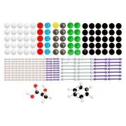 Modelo Molecular Orbital, Orgânica e Inorgânica c/ 178 Peças - Sdorf - Cód:SD-6300