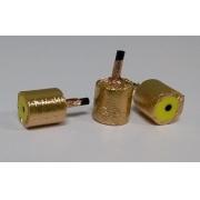 Oliva Dourada para Ecogh - Tam 13mm (Unitário) - WIDEX - Cód: EQ2-OLECG13