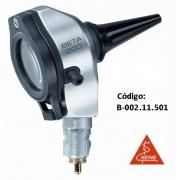Otoscópio F.O. BETA200 sem espéculos e sem cabo, 3,5V - HEINE - Cód: B-002.11.500