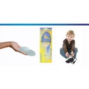 Palmilha Siligel com Arco Terapêutico Infantil (Vários Tamanhos)  Ortho Pauher - Cód: OP 8000i