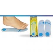 Palmilha Siligel Inteira com Ponto Azul Especial (Vários Tamanhos) - Ortho Pauher - Cód: OP 6003