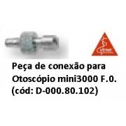 Peça de Conexão para Otoscópio Mini3000 F.O. - HEINE - Cód: D-000.80.101
