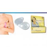 Prótese Mamária Externa De Silicone SiligelMamma (Modelo Gota Clear) - Ortho Pauher - Cód: OP 1054