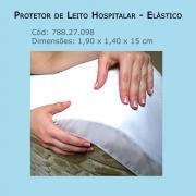Protetor de Leito Hospitalar - Elástico (Tamanho 1,90 x 1,40 x 0,15m) - Bioflorence - Cód: 788.27.098