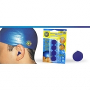 Protetor de Ouvido de Silicone (Azul) - Ortho Pauher - Cód: OP 4043
