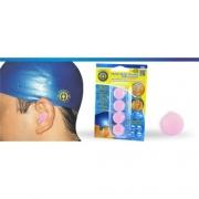 Protetor de Ouvido de Silicone (Rosa) - Ortho Pauher - Cód: OP 4041