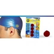 Protetor de Ouvido de Silicone (Vermelho) - Ortho Pauher - Cód: OP 4042