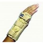 Tala com Tecido para Punho c/ Dedos Livres - Bilateral (BEGE) - Tam P - MARIMAR - Cód: FP 424BP