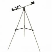 Telescópio Astronômico com Abertura de 50mm e Lente Focal de 600mm - ANATOMIC - Cód: TEL-60050