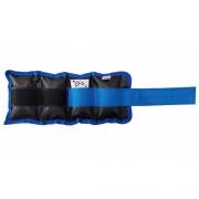 Tornozeleira VIP - Azul (02 Unidades) - G&H SPORT - Cód: GH 300AZ