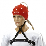 Touca MEDCAP Adulto Médio (Vermelho) - Neuro Tecnologia - Cód: CAMSOMAA20