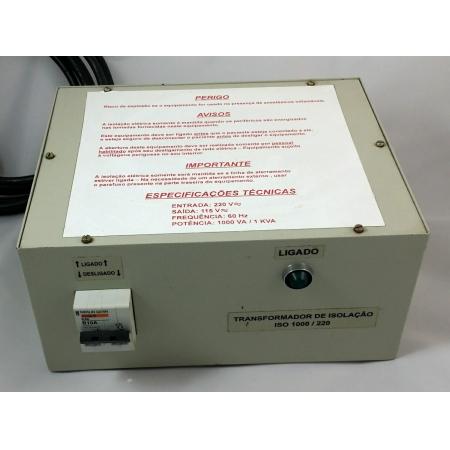 Transformador Isolador Hospitalar 220/110V - SPM-ISOXFR1K2