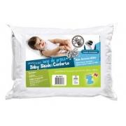 Travesseiro Infantil com Íons de Prata Baby Lavável (30x40cm) - Fibrasca - Cód: Z4271